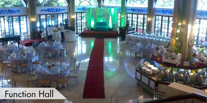 Function Hall of Royale Tagaytay Country Club