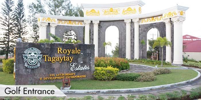Golf Entrance of Royale Tagaytay Country Club