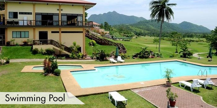 A Swimming Pool at San Juanico Park Golf & Country Club