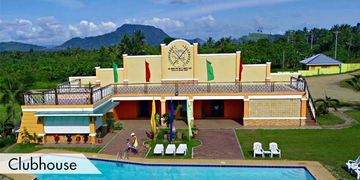 Clubhouse of San Juanico Park Golf & Country Club