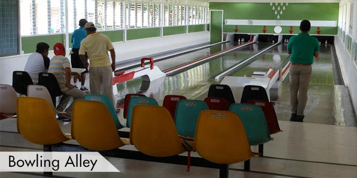 A Bowling Alley at San Pascual Golf Club