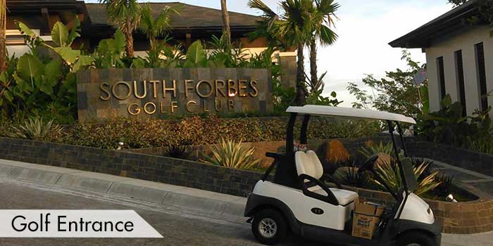Golf Entrance of South Forbes Golf Club
