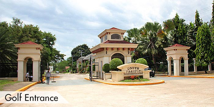 Golf Entrance of South Pacific Golf & Leisure Estate