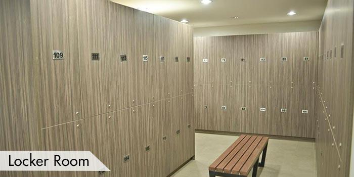 Locker Room at Southlinks Golf Club
