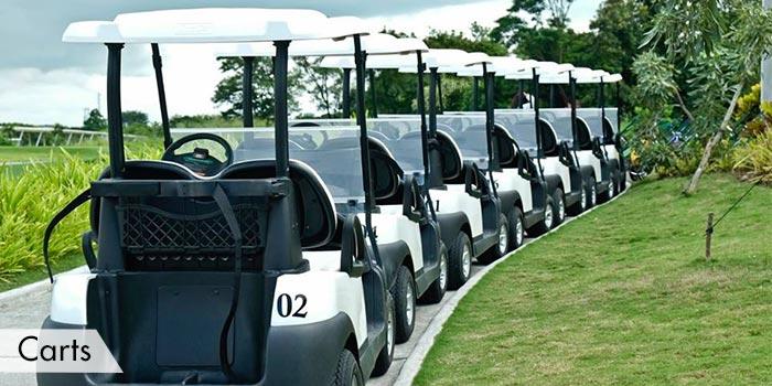 Southlinks Golf Club Carts