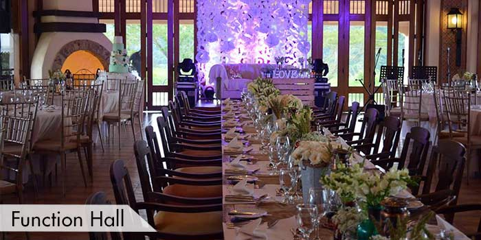 A Function Hall at Splendido Taal Golf and Country Club