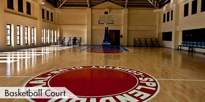 Basketball Court at Splendido Taal Golf and Country Club