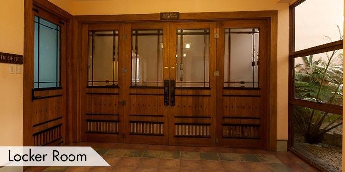 Splendido Taal Golf and Country Club Locker Room