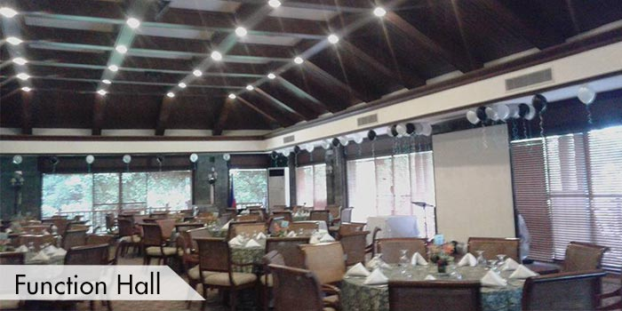 Function Hall at Sta Elena Golf Club