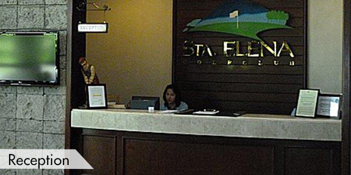 Sta Elena Golf Club Reception