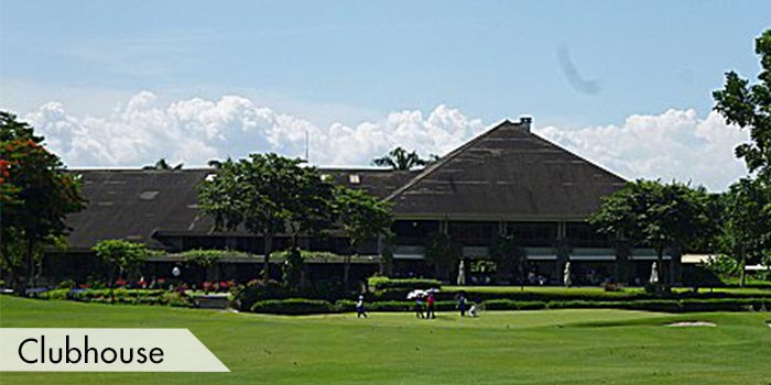 The Clubhouse of Sta Elena Golf Club
