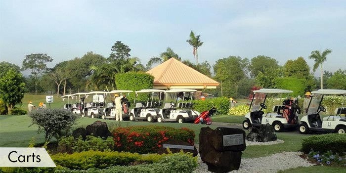 Subic Bay Golf & Country Club Carts