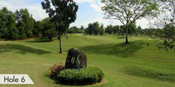 Subic Bay Golf & Country Club Hole 6