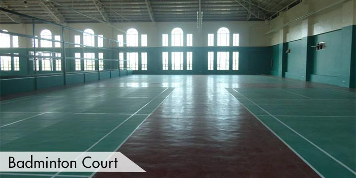Badminton Court at Summit Point Golf & Country Club