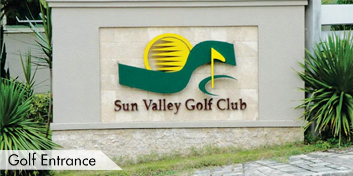 Sun Valley Golf Club Golf Entrance
