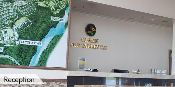 Sun Valley Golf Club Reception