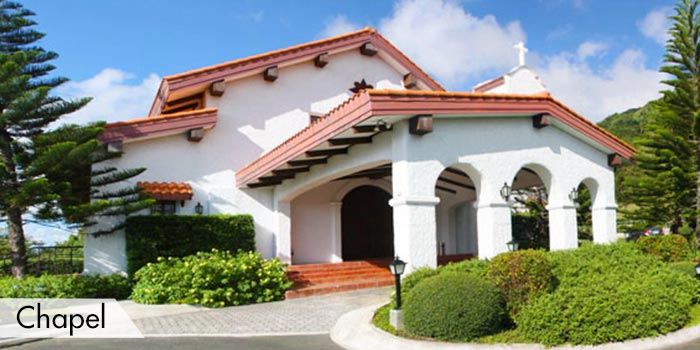 A Chapel at Tagaytay Highlands International Golf Club, Inc.