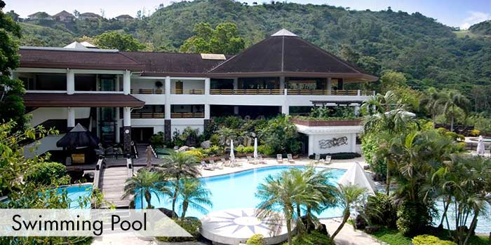 A Swimming Pool at Tagaytay Highlands International Golf Club, Inc.