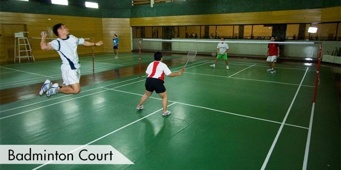 Badminton Court in Tagaytay Highlands International Golf Club, Inc.