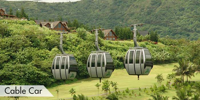 Cable Car at Tagaytay Highlands International Golf Club, Inc.