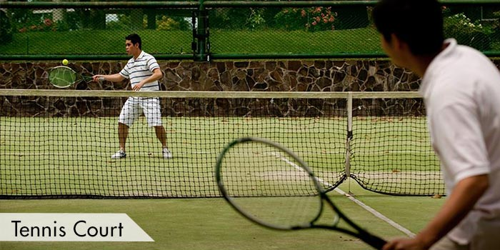 Tagaytay Highlands International Golf Club, Inc. Tennis Court