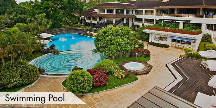 A Swimming Pool at Tagaytay Midlands Golf Club, Inc