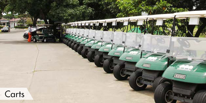 Orchard Golf & Country Club Carts