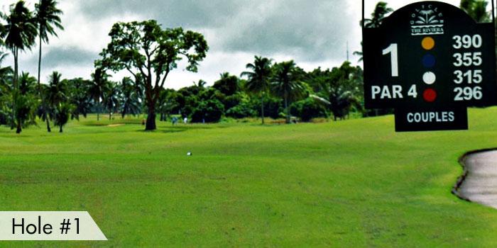 Riviera Golf Club Hole 1