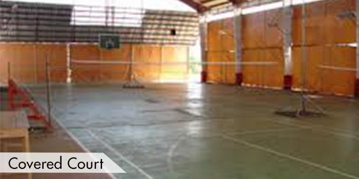 A Covered Court at UPI Hills Golf & Country Club
