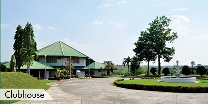 Clubhouse at UPI Hills Golf & Country Club