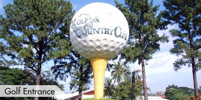 Valley Golf & Country Club Golf Entrance