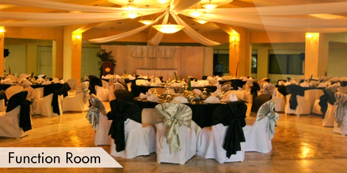 Villamor Golf Club Function Room