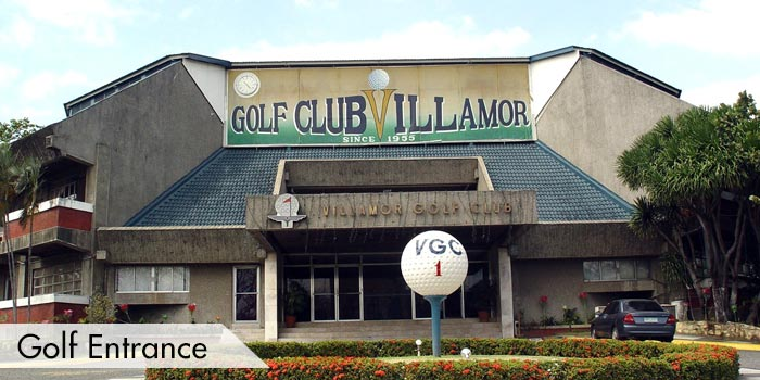 Villamor Golf Club Golf Entrance