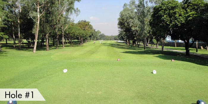 Villamor Golf Club Hole 1