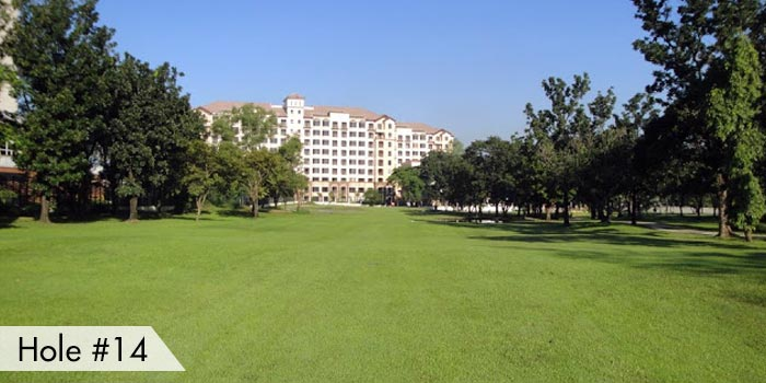 Villamor Golf Club Hole 14