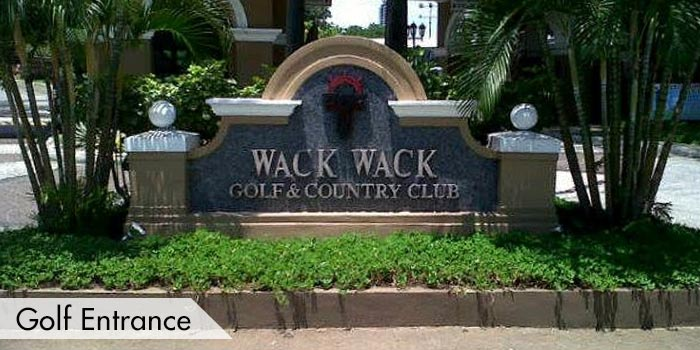 Wack Wack Golf & Country Club Golf Entrance