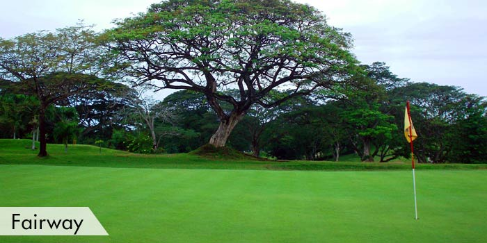 Zamboanga Golf Course & Beach Park Fairway