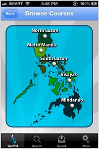 Free Philippine Golf Phone Directory