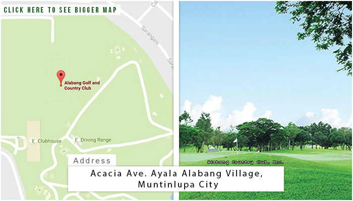 Alabang Location, Map and Address