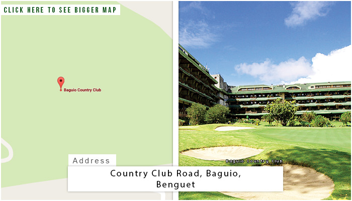 Baguio Location, Map and Address