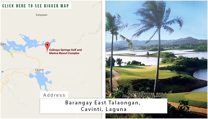 Caliraya Springs Location, Map and Address