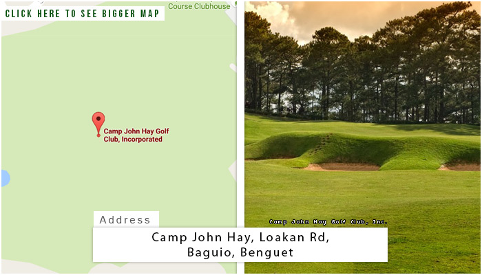 Camp John Hay Location, Map and Address