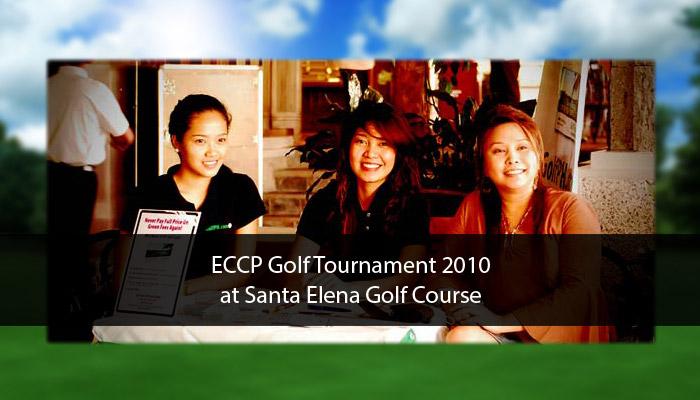 ECCP Golf Tournament 2010 at Santa Elena Golf Course
