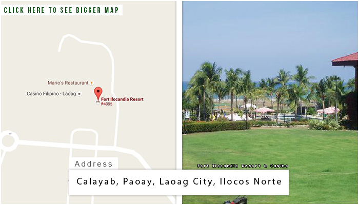 Fort Ilocandia Location, Map and Address