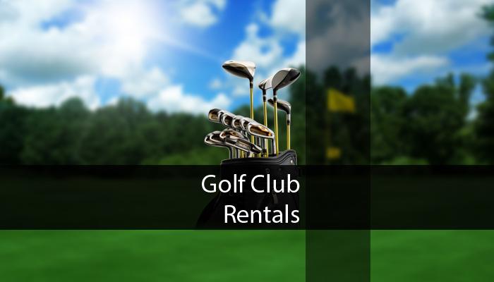 Golf Club Rentals
