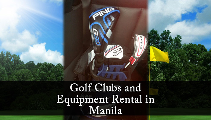 Golf Clubs and Equipment Rental in Manila