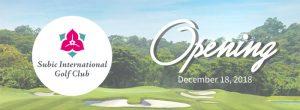 Subic International Golf Club opening