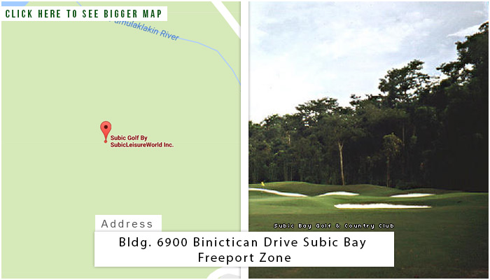 Subic Bay Location, Map and Address