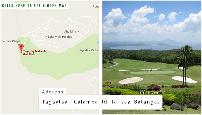 Tagaytay Midlands Location, Map and Address