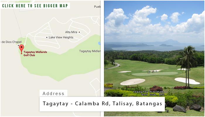 Tagaytay Midlands Location, Map and Address
